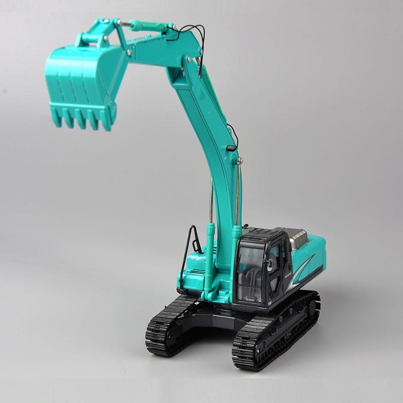 1/50 Geospec Acera SK330 Bulldozer Alloy Diecast Excavator model <font><b>Blue</b></font> Construction <font><b>Truck</b></font> Diecast <font><b>Toys</b></font> for Children