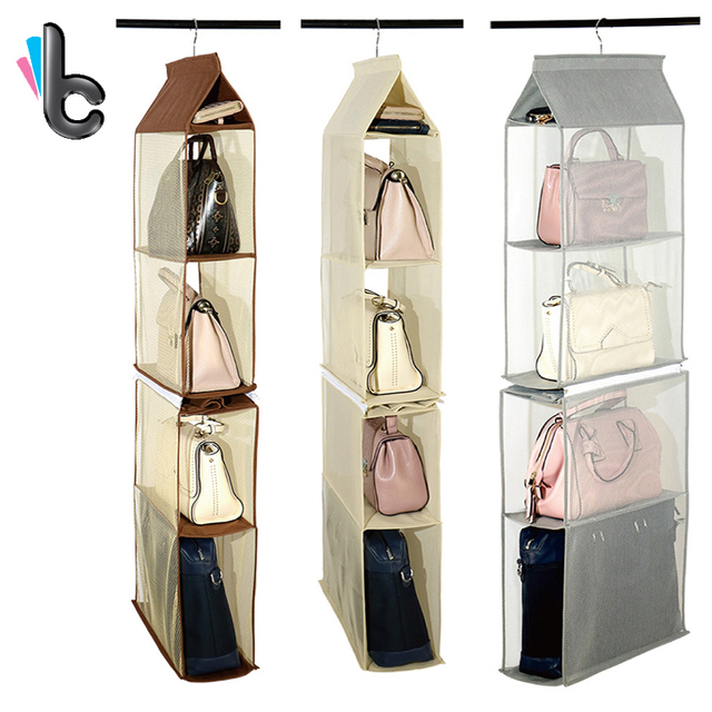 Indoor Bags Organizer Backpack Handbag Storage Be Hanging Shoe Bag 8 Pocket Closet Rack