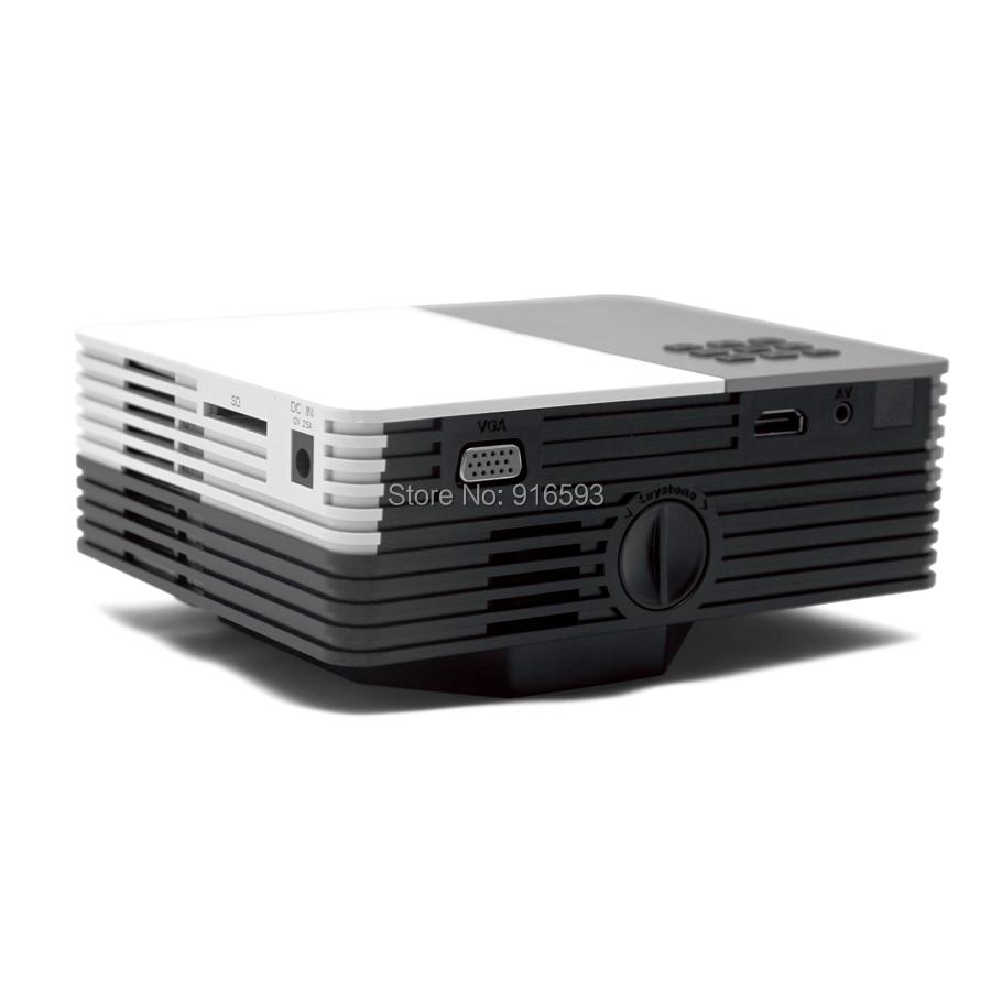 GM50 Portable Mini 1080P HD LED Projector for Home Cinema Theater USB HDMI VGA