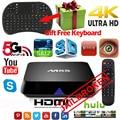 M8S Android Smart JAILBROKEN TV Box Amlogic S812 Quad core 4K 2G/8G wifi HDMI box TV Media Player Air Mouse Keyboard TV Box