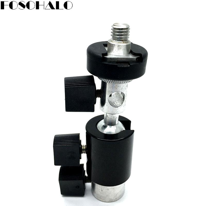 FOSOHALO 360 graden draaibare kogel Swivel Light Stand Flash beugel D - Camera en foto - Foto 4