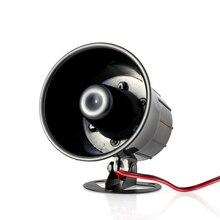 Проводная Сирена Рог Открытый для Безопасности Системы Сигнализации Дома громко звучать сирена 90db