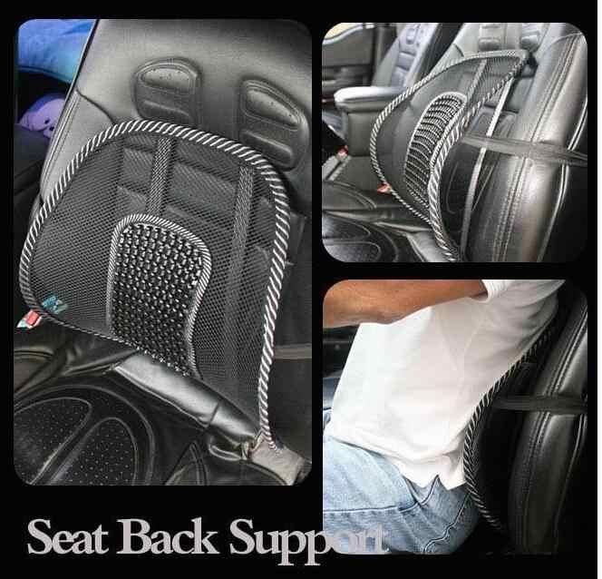 Rete confortable taille soutien siège de voiture housse canapé Cool Massage coussin lombaire dos orthèse oreiller lombaire coussin en gros
