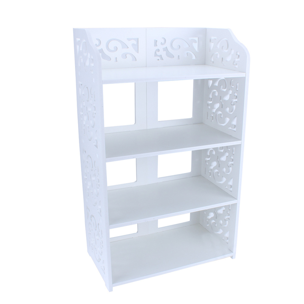 Image 2 - Standing Shoe Rack Simple Multi layers White Hollow Out Shoes Rack Stand Storage Organiser Shelf DIY Shoe Cabinet Home Furniture-in Shoe Racks & Organizers from Home & Garden