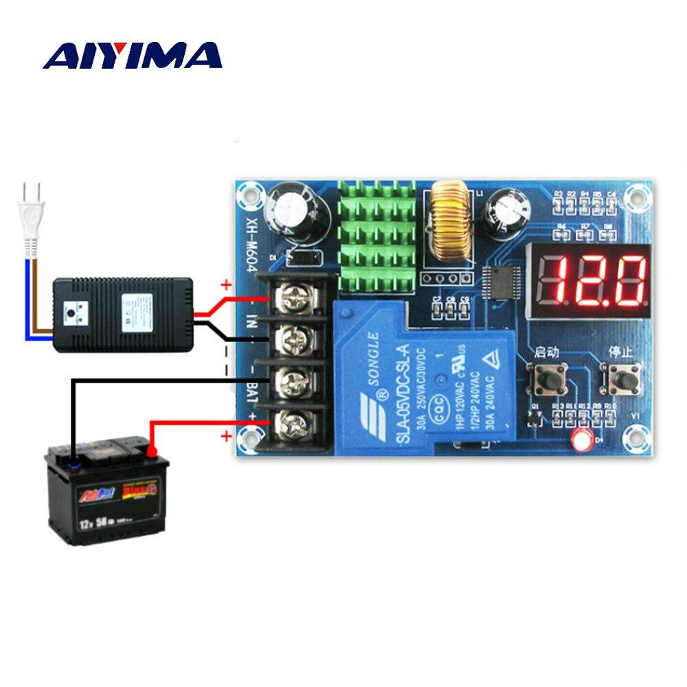 Aiyima nueva batería baterías de litio módulo de carga controlado 6-60 V para cargadores domésticos/energía Solar/turbinas eólicas