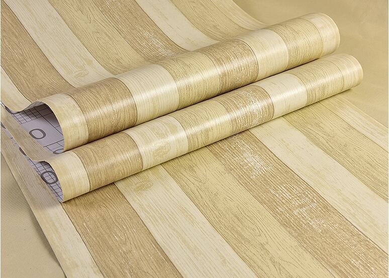 60cmx5m Wood Waterproof Vinyl Self Adhesive Tape Wallpaper Contact Paper Kitchen Flooring PVC Wall sticker Furniture Papier
