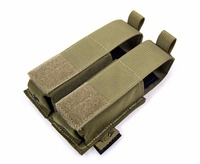 Genuine FLYYE MOLLE Double 9MM Pistol Magazine Pouch Ver HP In Stock Military Camping Modular Combat