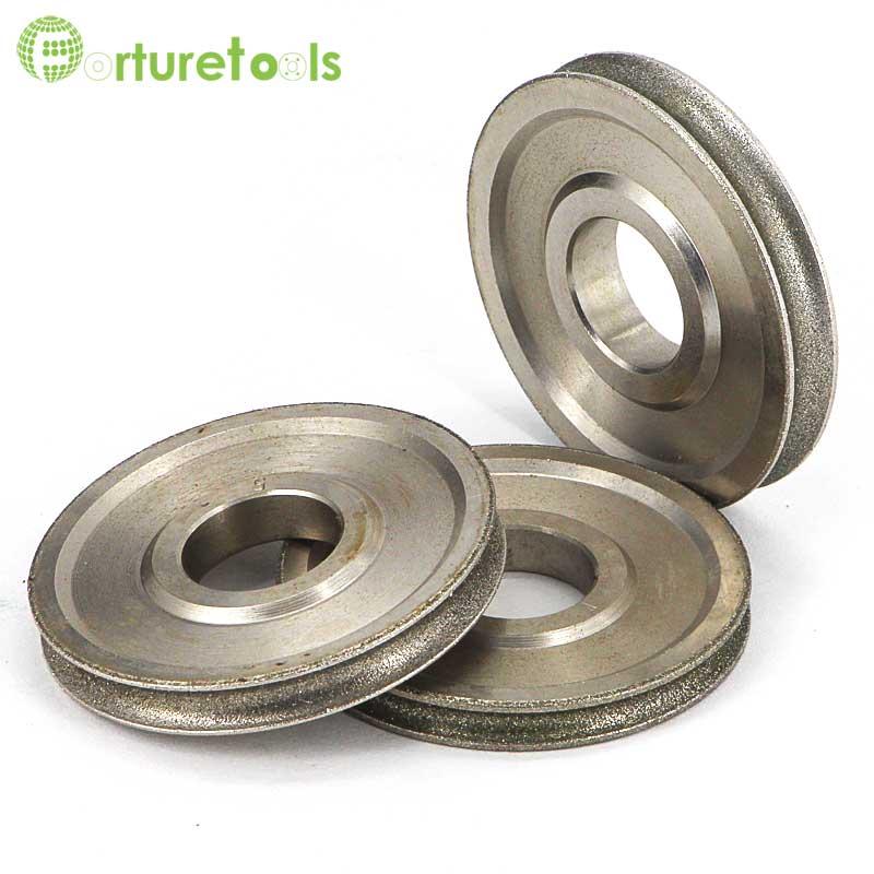 1 pièce Meule abrasive électrolytique revêtue de diamant de bord - Outils abrasifs - Photo 3