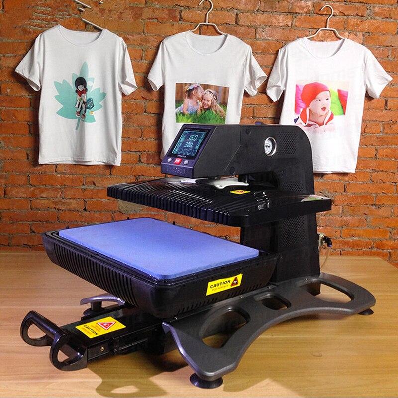110 v/220 v 3D Stampante A Sublimazione di Calore di Vuoto Presse T Shirt Macchina da Stampa Cassa Del Telefono di Trasferimento di Calore Macchina Tazza piastra ST 420 - 2