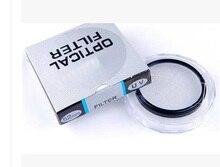 10 adet/grup 30 37 39 40.5 43 46 49 52 55 58 62 67 72 77 82mm lens UV dijital filtre Lens koruyucu için canon nikon DSLR SLR kamera