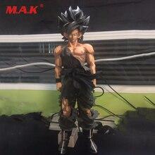 Dragon Ball Anime Figure Son Goku Paint Color Action Figure 34CM Big Size DragonBall Z Super Saiyan PVC Action Figure Collection