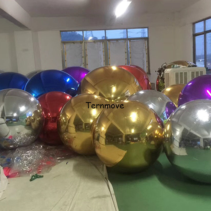 inflatable reflective mirror air tight ball for wedding party shopping mall decorate Events Decorationinflatable reflective mirror air tight ball for wedding party shopping mall decorate Events Decoration