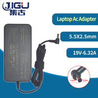 JIGU 19V 6.32A 120w Laptop Charger AC Adapter Power for asus G73 G71 UX501 GL751 K73 K53 for acer\hp\toshiba laptop 5.5X2.5mm