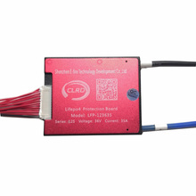 Waterproof 12S 36V 25A 35A 45A 60A BMS PCB PCM for LiFePO4 Battery with Balance Function