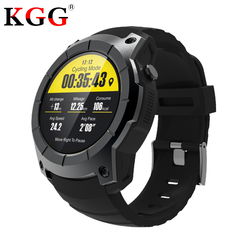 GPS SIM card GSM Sports Watch S958 MTK2503 Heart rate monitor Smartwatch multi sport model smart