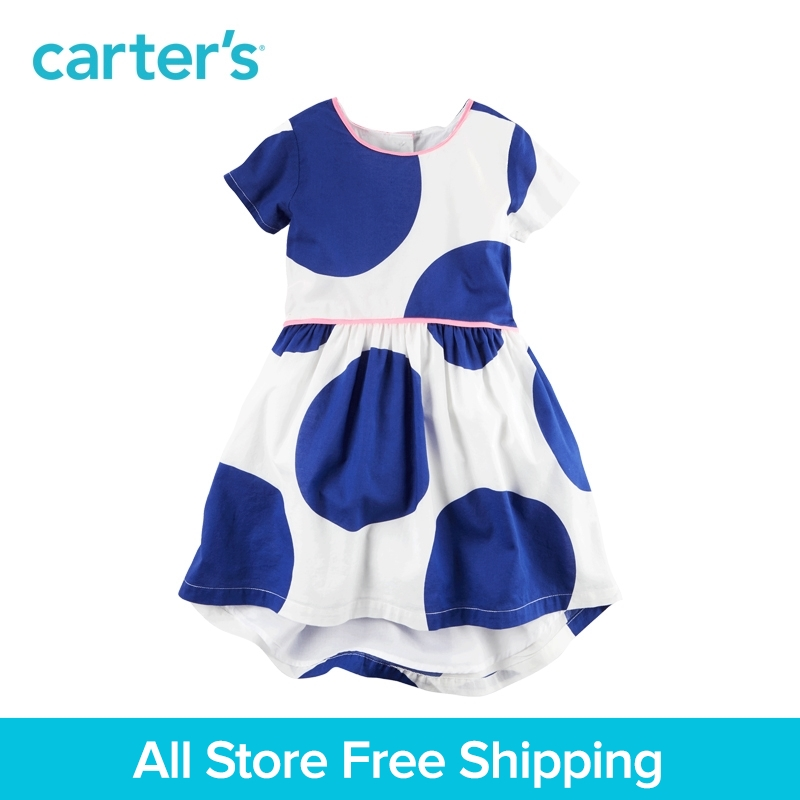 Carter's 1pcs baby children kids Polka Dot Dress 251G277,sold by Carter's China official store цена 2017