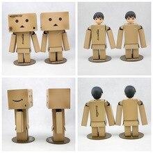 1 pièces Revoltech Danbo Danbor tête peut être changé japonais boîte Version Action figurine poupée jouet cadeau lumière LED neuf dans la boîte