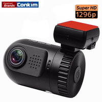 Conkim Car DVR Ambarella A7LA50 Mini 0805 Full HD 2304*1296P 30fps Auto Car Dash Camera LDWS HDR G sensor Digital Video Recorder