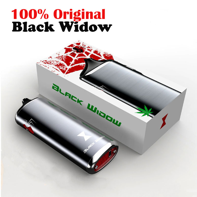 Original kingtons herbal vaporizer Black Widow vapor box mod vaporizador dry vape dry herb vaporizer herbal e cigarettes newest and hotest product e cig vapor mod god 180s with 220w box mod dry herb smy god 180s mod