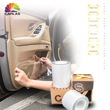 CARLAS 0.15M*30M or 0.1M*30M Universal Clear Door Sill Edge Paint Protection Vinyl Film Sheet