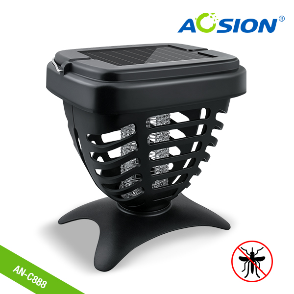 Aosion Mosquito Killer Electric UV Fly Bug Insect Zapper Trap Pest Control Lamp Light (Black)Aosion Mosquito Killer Electric UV Fly Bug Insect Zapper Trap Pest Control Lamp Light (Black)