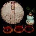 Пуэр Старые Чайные Деревья Чай Брожения Материал Мармелад Торт Семь Похудения Органа Здравоохранения 320 г
