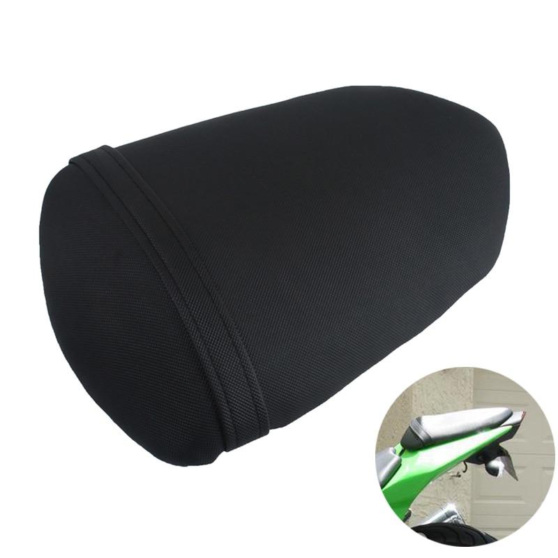 For Kawasaki NINJA EX250 250R 2008 2009 2010 2011 2012 Motorcycle Rear Passenger Seat Pillion Seat Cushion Pad Black