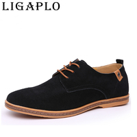 Men Sneakers Suede Genuine Leather Oxfords California Casual Shoes Men Dress Shoes 38 46 Big Size