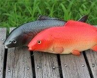 PU Fake Carp Seafood Simulation Food Fish Model Kid Toys Model Kitchen Decoration Props Teaching Materials