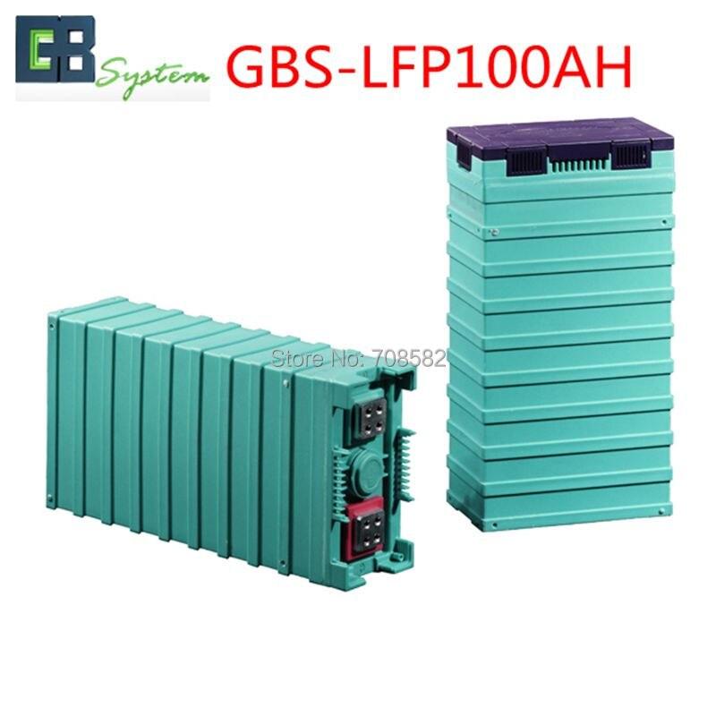 4pcs GBS3.2V100AH LIFEPO4 Battery for electric car/ solar/UPS/energy storage etc GBS-LFP100AH 1pcs gbs lifepo4 battery 3 2v400ah for electric car solar ups energy storage etc
