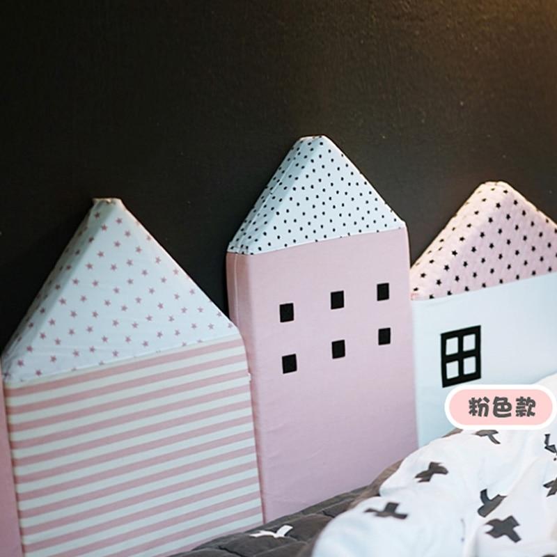 KAMIMI Cute Baby Łóżko ogrodzenie 4 sztuki zestaw piękny Gąbka - Pościel - Zdjęcie 2