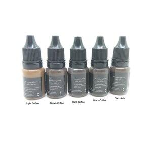 Image 4 - Профессиональный набор для перманентного макияжа, набор для перманентного макияжа, принадлежности для татуировок, 3D иглы для бровей, пигментные наборы