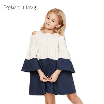 06ff62593 Vestidos de niñas 100% algodón niños fiesta ropa vestido para niñas  adolescentes ropa 7-14 años Primavera Verano Mini vestido