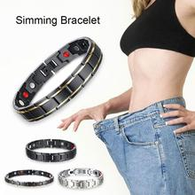 Magnetic Therapy far infrared bracelet health Magnetic weight loss bracelet magnet therapy slimming Weight Loss L4