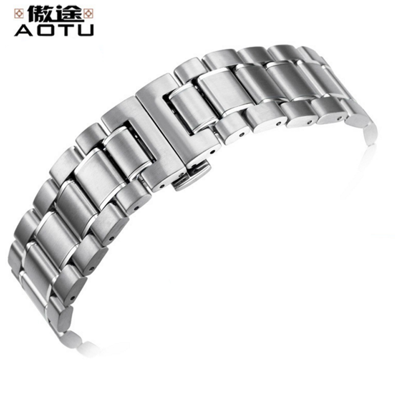 Stainless Steel Watchbands For Tissot 1853 Tempo T060 Men Watch Strap 20mm Top Quality Men Bracelet Belt Metal Clock Band Saat genuine leather watchbands for tissot mido lv dior for 1853 t050 waterproof men women buckle strap watch strap fits all brand