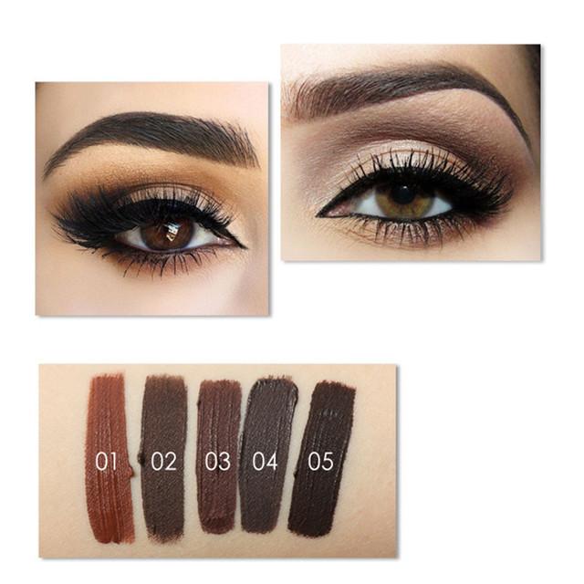 5 Colors No Shading Durable  Eyebrow Pomade Gel Waterproof Maquiagem Makeup Accessories Eye Brow Cream Eyebrow Enhancer Cosmetic