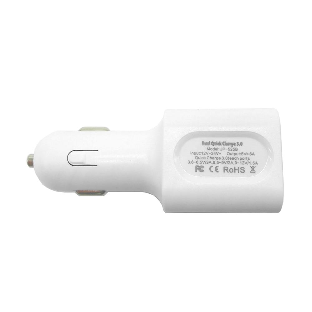 För snabbladdning 3.0 laddare 36W dubbel USB QC3.0 bil snabbladdare - Reservdelar och tillbehör för mobiltelefoner - Foto 5