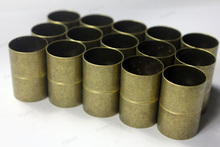 Фотография Hot Selling Top Quality 2 sets 18mm Inner Hole Antique Bronze Cylinder Magnetic Clasp,Big Size Magnet