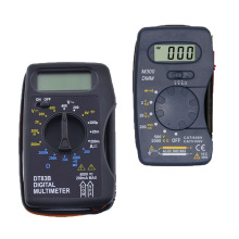 DT83B Pocket Digital Multimeter Ammeter Voltmeter DC/AC  Ohm Voltage Multi Current Meters Tester Electrical