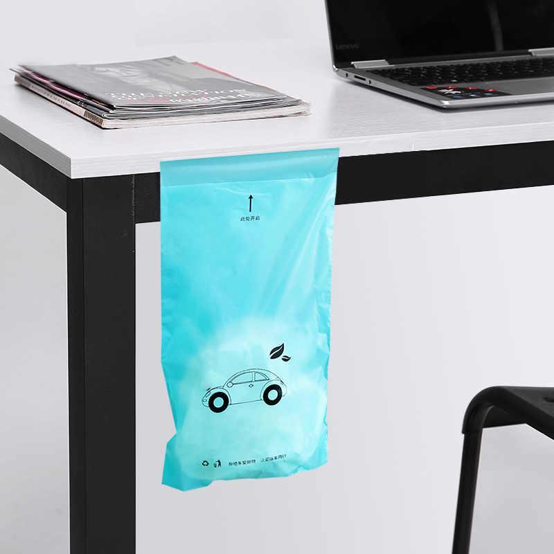 5 ピース防水オフィスキッチン使い捨て自己粘着生分解性ごみ箱ごみ袋ホルダーキッチン主催ごみビン