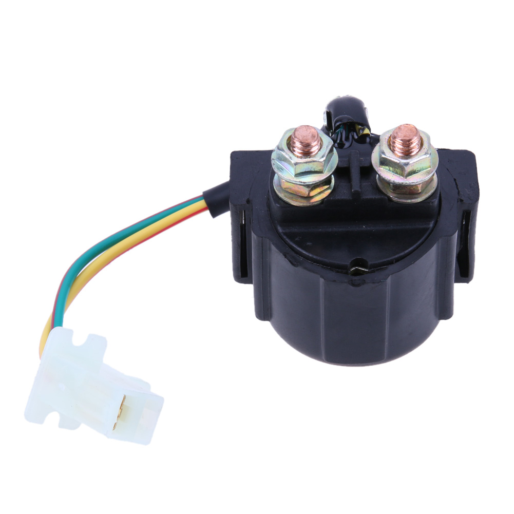1pc 3008 Motorcycle Starter Solenoid Relay Ignition Key Switch For Wiring Honda Yamaha Suzuki Motorbike Electrical Accessories