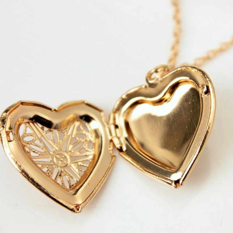 Hollow หัวใจจี้สร้อยคอแฟชั่นเครื่องประดับ LOVE Collares เรขาคณิต Charm สร้อยคอ Bijoux ใหม่มาถึง 2019
