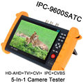 Free shipping!IPC9600SATC 7'' Touch Screen Onvif IP HD-AHD/TVI/CVI Analog CCTV Camera Tester