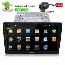 EinCar 10.1″ Android 7 Car Autoradio Double 2 Din Stereo In Dash Head Unit Octa Core GPS Sat Nav Support 2GB RAM 32GB ROM WiFi