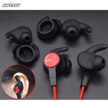3 זוגות סיליקון אוזניות אוזן ניצנים וו Eartips עבור Huawei Honor xSport AM61 ספורט Bluetooth באוזן אוזניות אוזניות L/ m/S