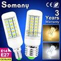 Bright E27 E14 Led Lamp Smart IC Spotlight 220V 110V LED Corn Bulb Light Bombillas Bulbs Lampada Ampoule Lighting 5730 Led Bulb