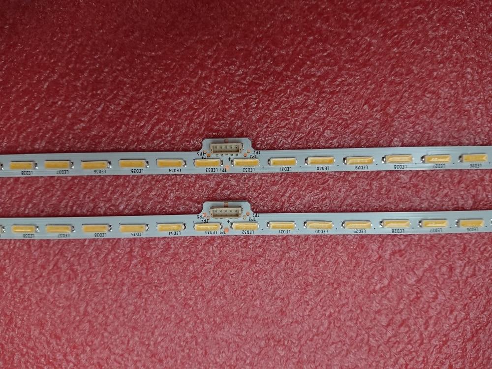 LED Backlight strip(2) for Sony Sharp KD-55X8508C KD-55X8505C 55X8507C 55X8500C XBR-55X850C 75.P3C08G001  YLS_HAN55_7020 HRN55