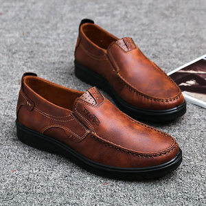Image 5 - ファッション男性カジュアル秋の夏通気性の靴でサイズ 38 48 茶黒 chaussure オム