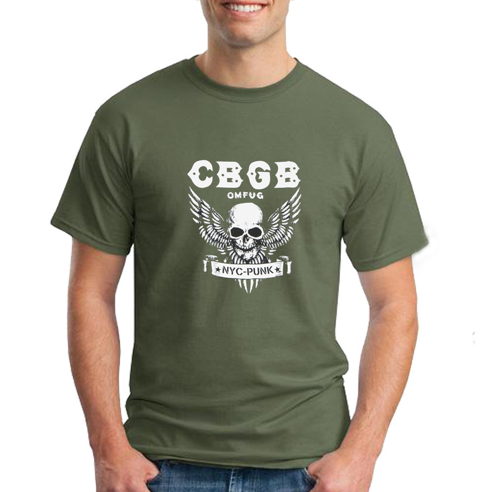 861653c5 Detail Feedback Questions about CBGB Home of Punk OMFUG Mens T Shirt ...