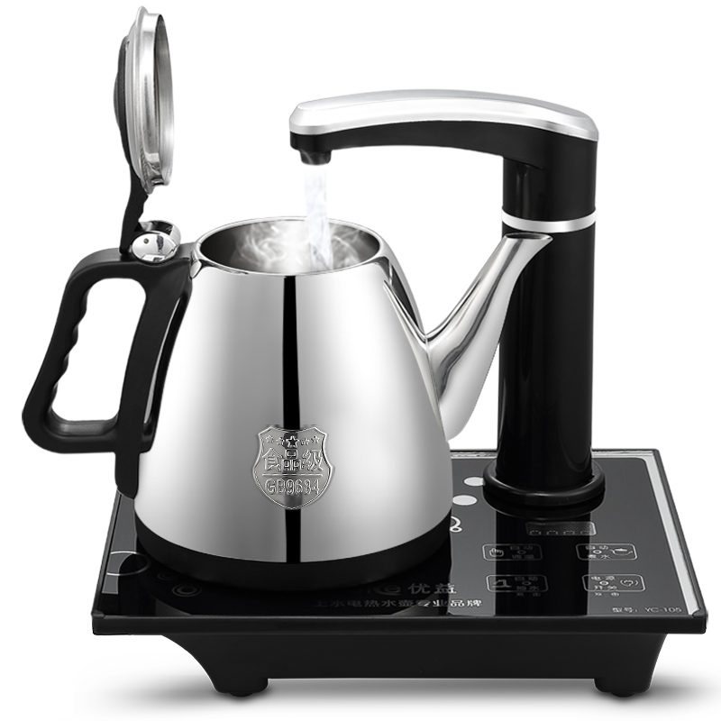 Free shipping Automatic pumping electric kettle tea cover boil Electric kettles